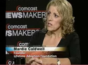 Photos Adoption Expert Mardie Caldwell on Comcast NewsMakers